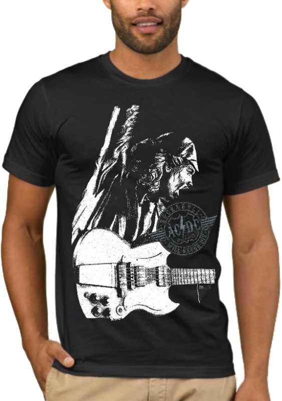 Μπλούζα με στάμπα AC/DC Stiff Upper Lip