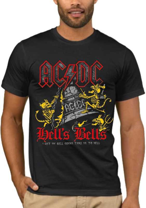 Μπλούζα με στάμπα AC/DC Hells Bells I got my bell, I'm gonna take you to hell