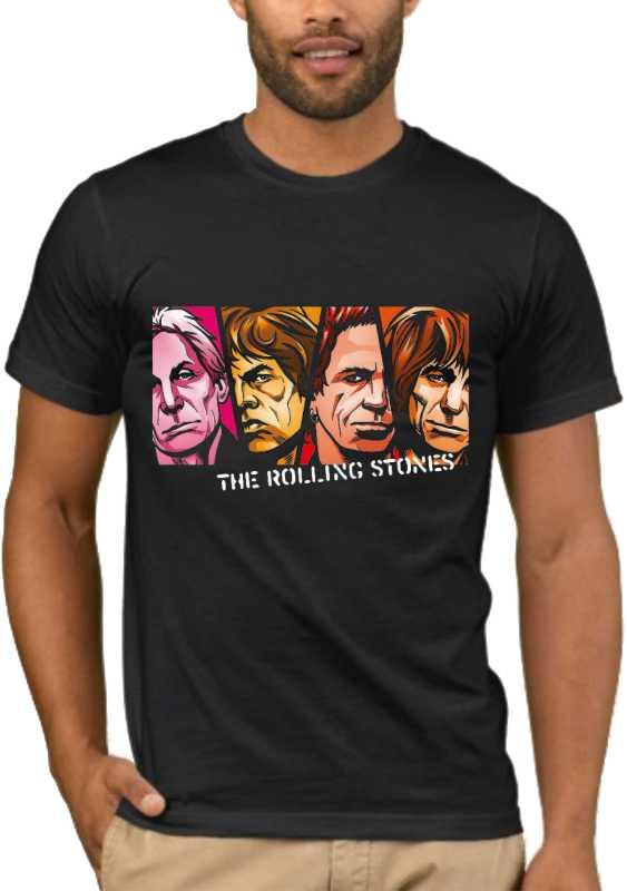 Μπλούζα με στάμπα Rolling Stones 1359