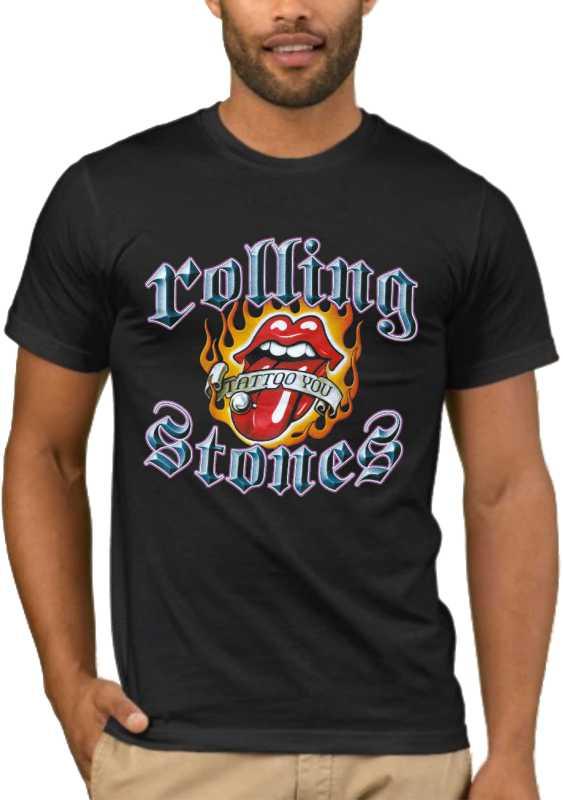 Μπλούζα με στάμπα Rolling Stones 1363