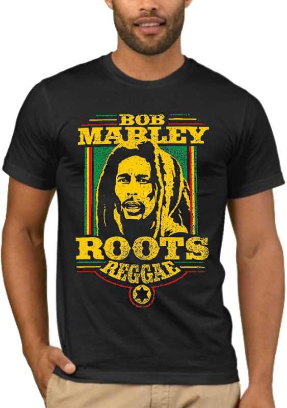 Μπλούζα με στάμπα Bob Marley Roots Reggae
