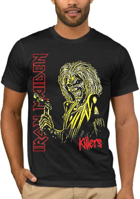 Μπλούζα με στάμπα Iron Maiden Killers