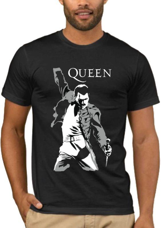 Μπλούζα με στάμπα Queen Freddie Mercury