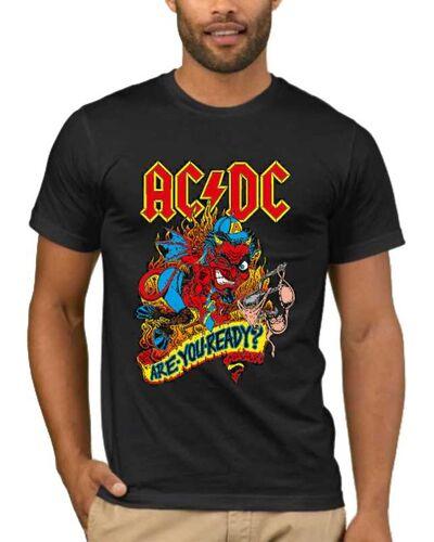 Μπλούζα με στάμπα AC/DC 1004