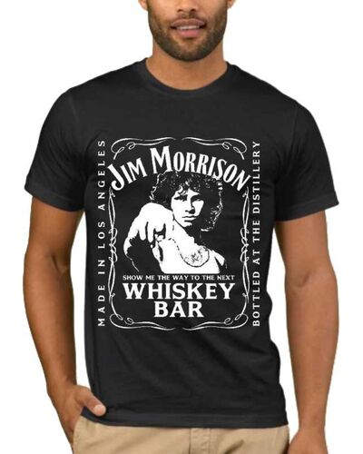 Μπλούζα με στάμπα Jim Morrison Show Me The Way Next Whiskey Bar