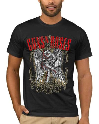 Μπλούζα με στάμπα  Guns n Roses Sketched Cherub