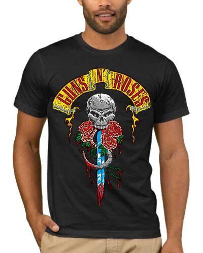 Μπλούζα με στάμπα  Guns n Roses Skull Dagger
