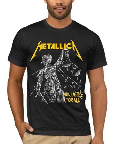 Μπλούζα με στάμπα Metallica and Justice for All