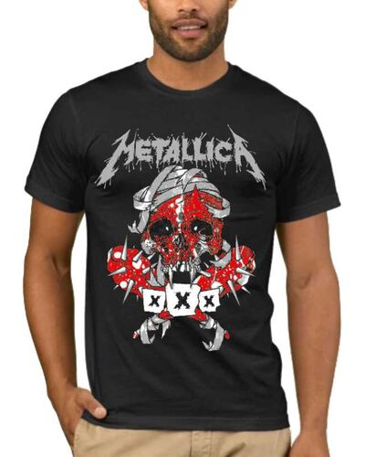 Μπλούζα με στάμπα Metallica Seek & Destroy