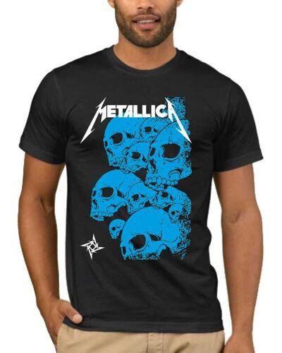 Μπλούζα με στάμπα Metallica Skulls