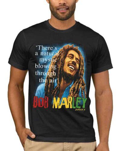 Μπλούζα με στάμπα Bob Marley There's a natural mystic blowing through the air