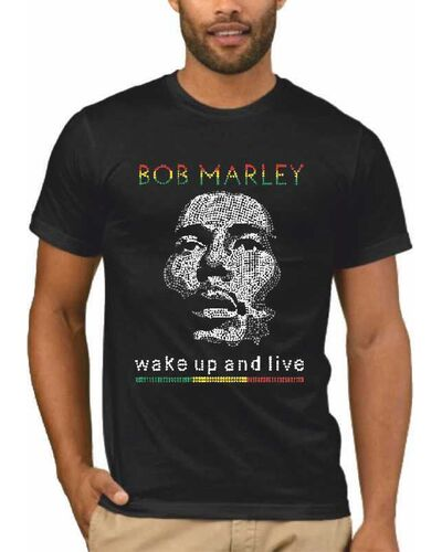 Μπλούζα με στάμπα Bob Marley 1551