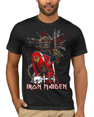 Μπλούζα με στάμπα Iron Maiden 1661