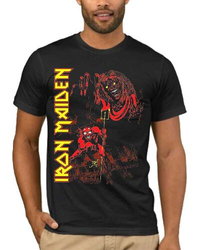 Μπλούζα με στάμπα Iron Maiden Number of the Beast