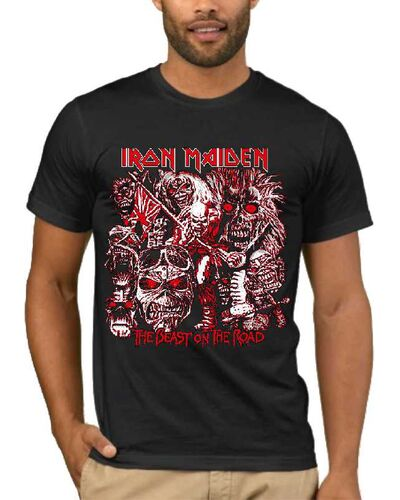 Μπλούζα με στάμπα Iron Maiden The Best On The Road