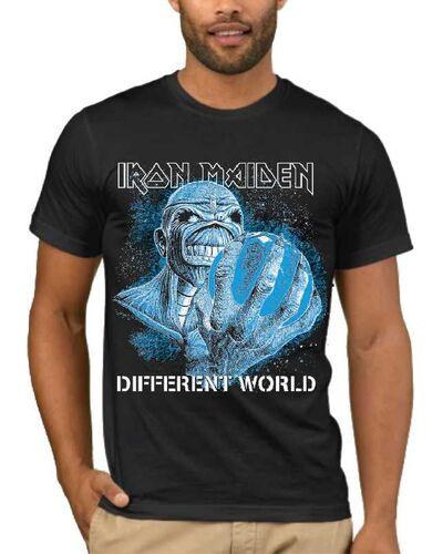 Μπλούζα με στάμπα Iron Maiden Different World