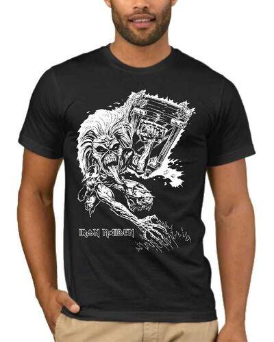 Μπλούζα με στάμπα Iron Maiden mascot Eddie