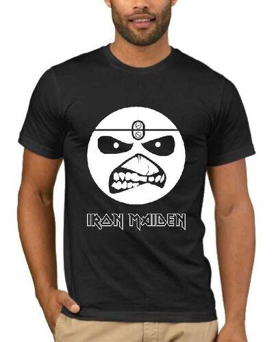 Μπλούζα με στάμπα Iron Maiden Eddie Smile
