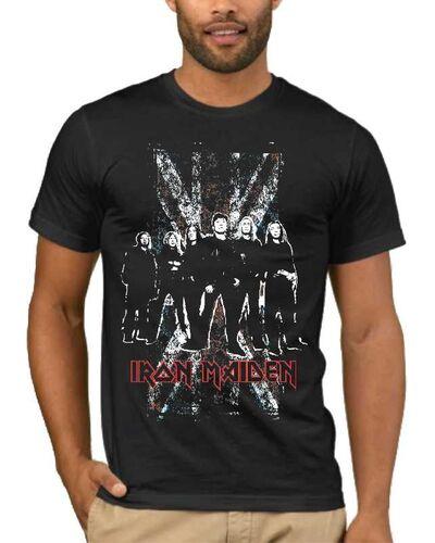 Μπλούζα με στάμπα Iron Maiden The Band