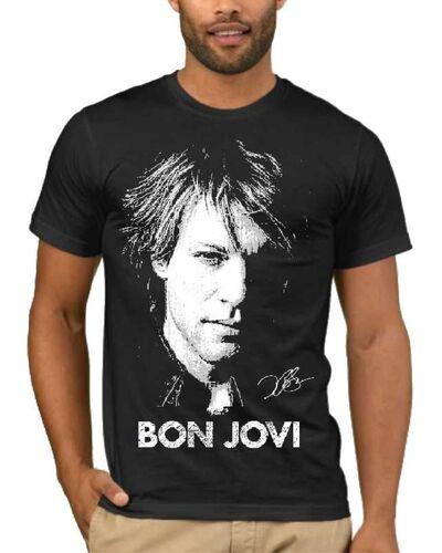 Μπλούζα με στάμπα Bon Jovi 1820