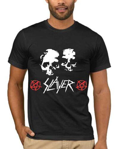 Μπλούζα με στάμπα Slayer Skulls