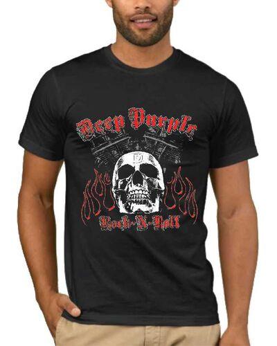 Μπλούζα με στάμπα Deep Purple Highway Star Motor