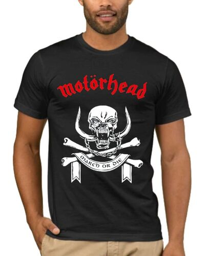 Μπλούζα με στάμπα Motorhead March Or Die