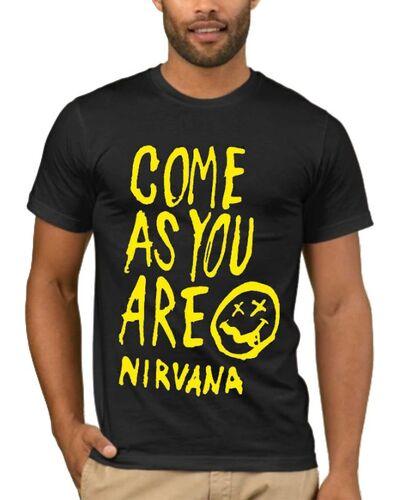 Μπλούζα με στάμπα Nirvana Come As You Are