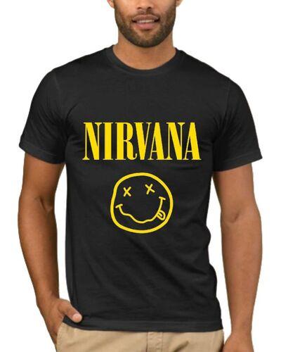 Μπλούζα με στάμπα Nirvana Smiley Face