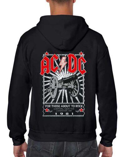Μπλούζα με μεταξοτυπία AC/DC For Those About to Rock