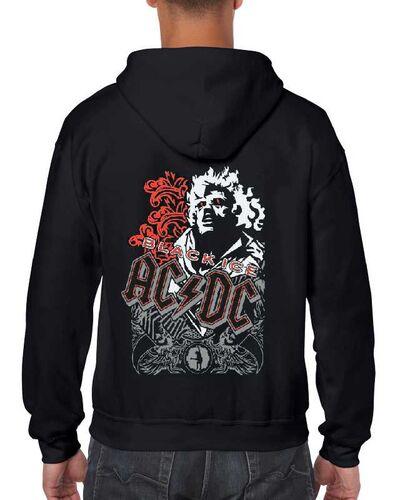 Μπλούζα με μεταξοτυπία AC/DC Black Ice
