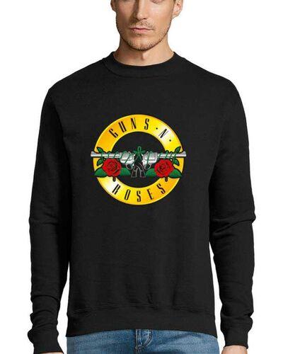 Μπλούζα με μεταξοτυπία Guns n Roses Distressed Bullet