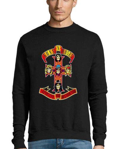Μπλούζα με μεταξοτυπία Guns n Roses Appetite For Destruction