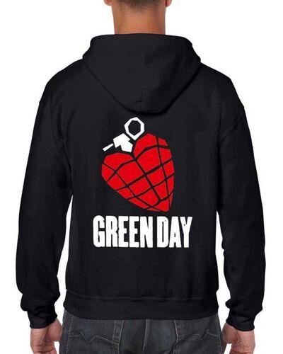 Μπλούζα με μεταξοτυπία Green Day American Idiot