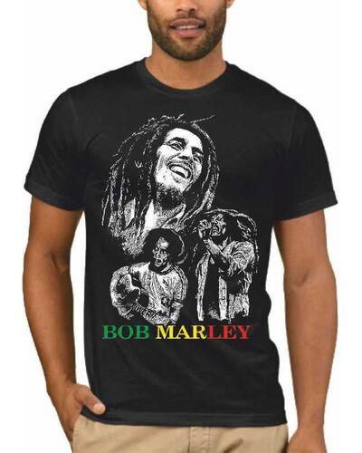 Μπλούζα με μεταξοτυπία σε μαύρο t-shirt  Bob Marley Reggae Creator