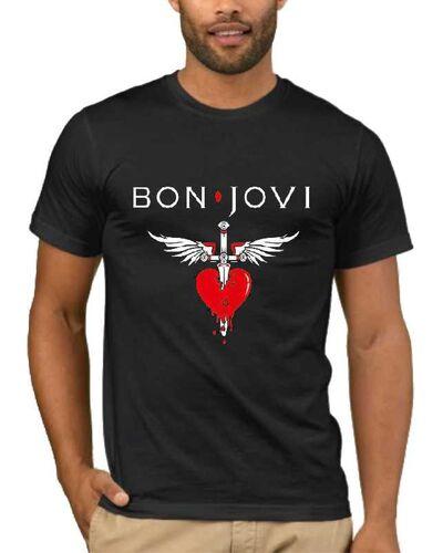 Μπλούζα με μεταξοτυπία Bon Jovi You Give Love A Bad Name