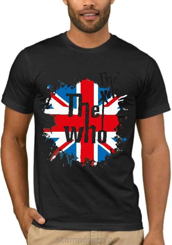 Μπλούζα με στάμπα The Who 1945