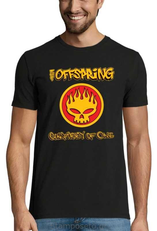 Μπλούζα με μεταξοτυπία The Offspring Conspiracy of One