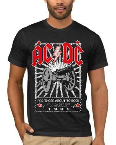 Μπλούζα με στάμπα AC/DC For Those About to Rock