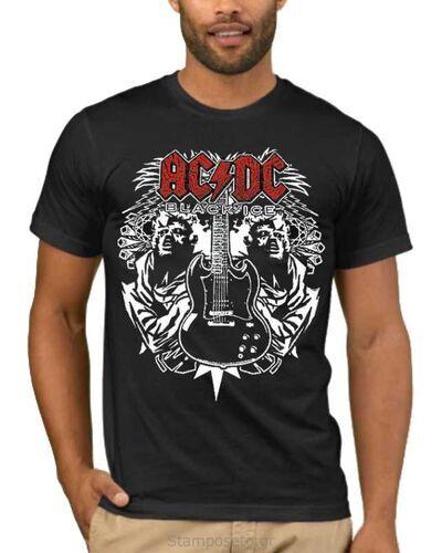 Μπλούζα με στάμπα AC/DC Black Ice