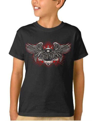 Παιδικό μπλουζάκι με μεταξοτυπία AC/DC We Salute You