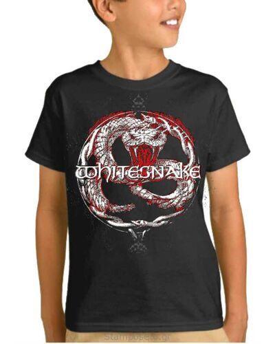 Παιδικό μπλουζάκι με μεταξοτυπία Whitesnake Back To The Bone