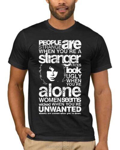 Μπλούζα με στάμπα Jim Morrison People are Strange When You're a Stranger