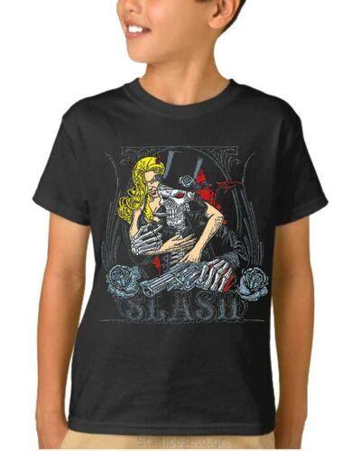 Παιδικό μπλουζάκι με μεταξοτυπία Guns N' Roses Slash