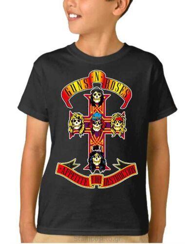 Παιδικό μπλουζάκι με μεταξοτυπία Guns N' Roses Appetite For Destruction