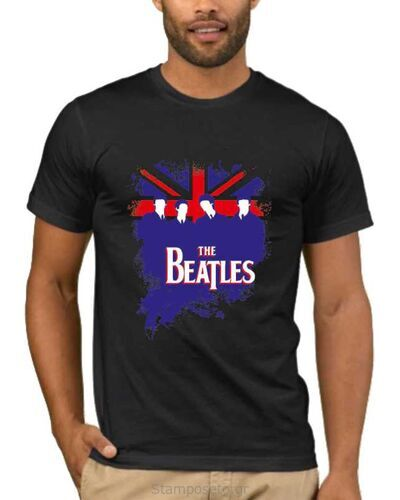 Μπλούζα με στάμπα The Beatles 1262