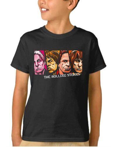 Παιδικό μπλουζάκι με μεταξοτυπία Rolling Stones Rolling Stones Mick Jagger, Keith Richards,Charlie Watts, Brian Jones