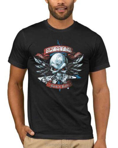 Μπλούζα με στάμπα Scorpions  Rock'n Roll Forever