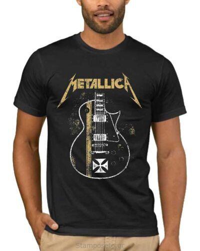 Μπλούζα με στάμπα Metallica James Hetfield Gibson Guitar