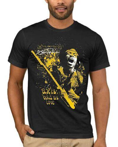 Μπλούζα με στάμπα Jimi Hendrix Axis Bold As Love